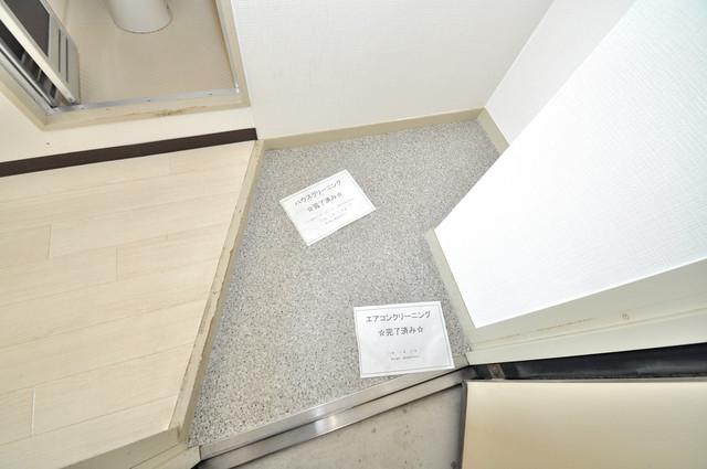 アパートメント生野Ⅲ 素敵な玄関は毎朝あなたを元気に送りだしてくれますよ。