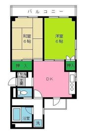 新丸子駅 徒歩15分3階Fの間取り画像