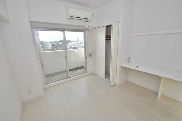 LA CASA 新深江 シンプルな単身さん向きのマンションです。