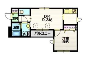 エクセル藤4階Fの間取り画像