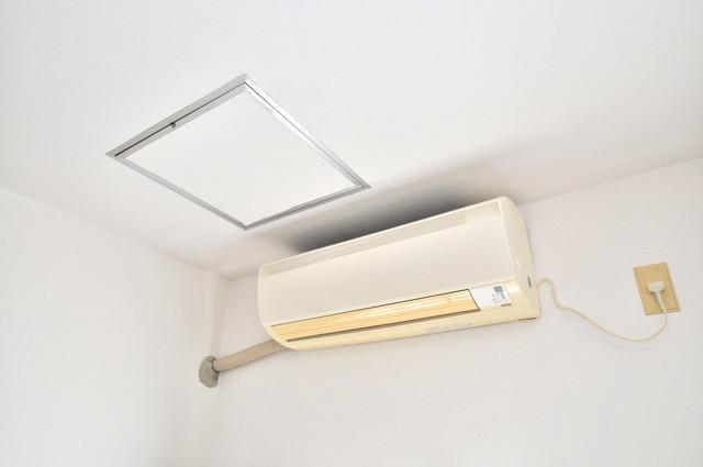 カーサデル吉松 エアコンがあるのはうれしいですね。ちょっぴり得した気分。