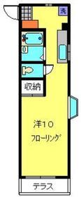 シャトレー菅1階Fの間取り画像