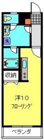ラ・ルミエール3階Fの間取り画像