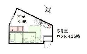 ハーミットクラブハウス二俣川ai2階Fの間取り画像