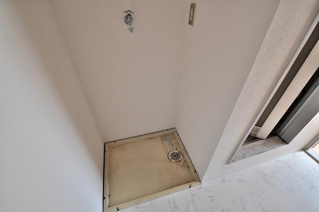 センチュリーシティⅠ 室内に洗濯機置き場があれば雨の日でも安心ですね。
