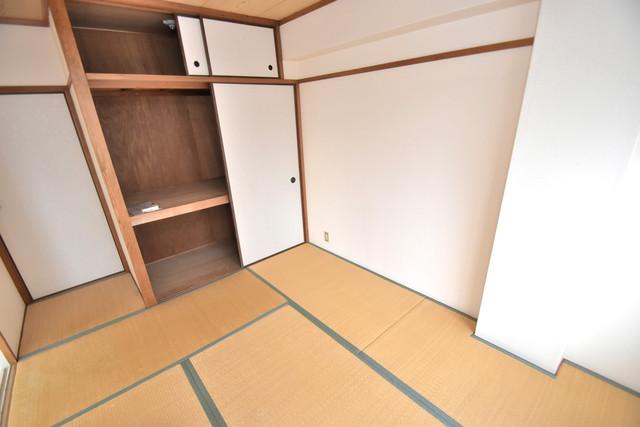 マンションSGI今里ロータリー もうひとつのくつろぎの空間、和室も忘れてません。