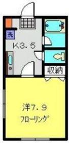 横浜元町ガーデン122階Fの間取り画像