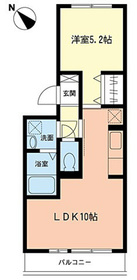 リヴェール3階Fの間取り画像
