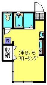 桜ヶ丘ハイツ2階Fの間取り画像