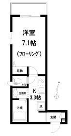 Casa Aqua-K2階Fの間取り画像
