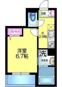 J.maison ジェイメゾン2階Fの間取り画像