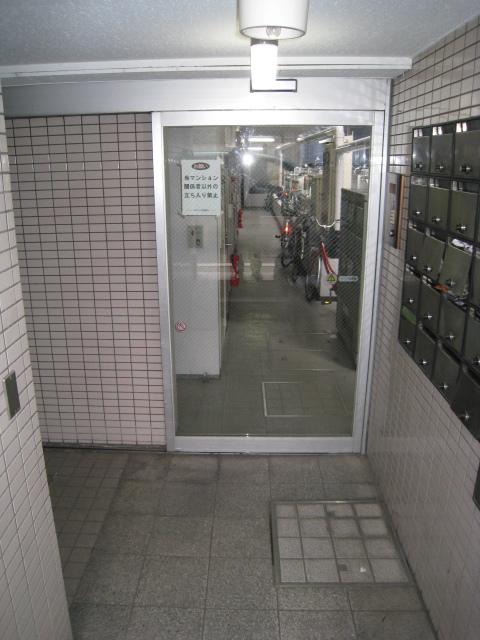 スカイコート武蔵小杉5エントランス