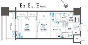 フェニックスヨコハマスクエア8階Fの間取り画像