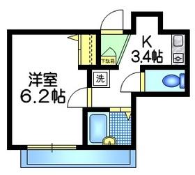 アステラ・キョーエー4階Fの間取り画像