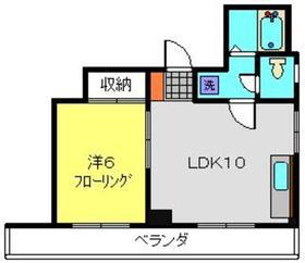 妙蓮寺駅 徒歩20分2階Fの間取り画像