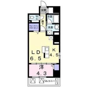 榴ヶ岡駅 徒歩10分3階Fの間取り画像