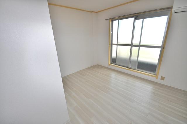 メダリアン巽 朝には心地よい光が差し込む、このお部屋でお休みください。