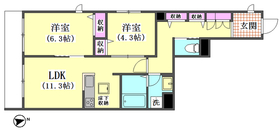 エクラージュ タケウチ 105号室