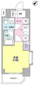 プラース千代田富士見5階Fの間取り画像