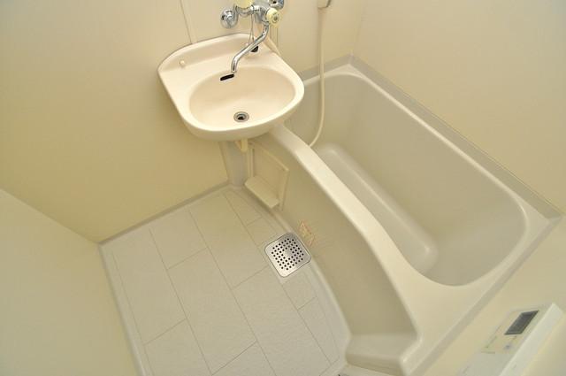 ビクトワール小阪 コンパクトだけど機能性バッチリ。シンプルライフに十分のお風呂。