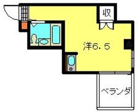 柏葉マンション2階Fの間取り画像