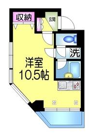フォンテーヌ日本橋5階Fの間取り画像