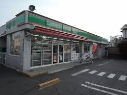 ローズガーデンCOMO ローソンストア100平野加美北三丁目店