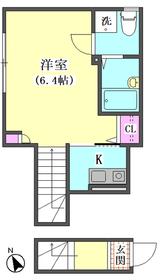 ドミール東矢口 204号室