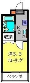 アップアロー3階Fの間取り画像