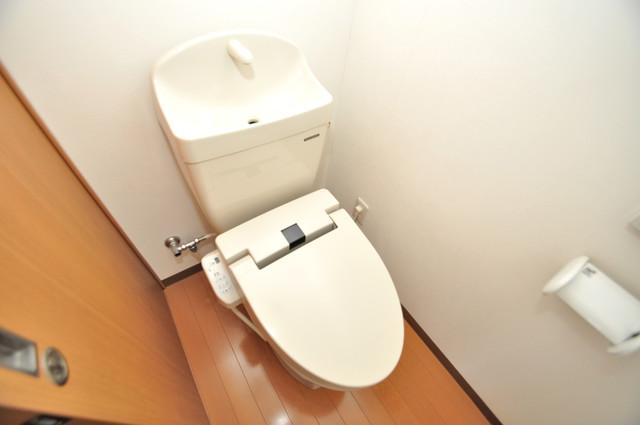 グランドール北巽 スタンダードなトイレは清潔感があって、リラックス出来ます。