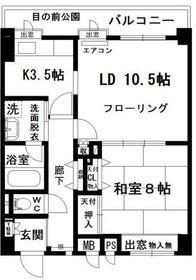 パンニャマンション2階Fの間取り画像