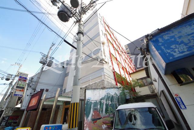 大阪市都島区都島南通2丁目の賃貸マンションの外観