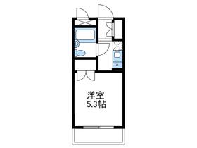 ライオンズマンション相武台前第52階Fの間取り画像
