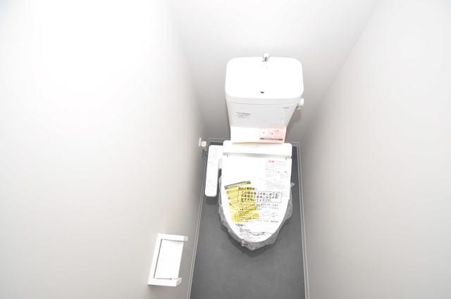Blue Lagoon(ブルーラグーン) 清潔感のある爽やかなトイレ。誰もがリラックスできる空間です。