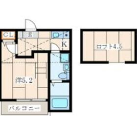 Casa Colina峰沢町1階Fの間取り画像