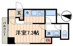 デュオメゾン菊川2階Fの間取り画像