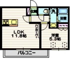 (仮称)中央1丁目メゾン4階Fの間取り画像