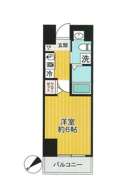グリフィン横浜・桜木町間取図