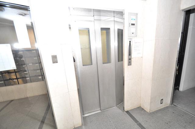ミエビル エレベーター付き。これで重たい荷物があっても安心ですね。