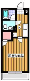 ブランティーグル2階Fの間取り画像