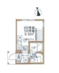 リーブルコート弘明寺1階Fの間取り画像