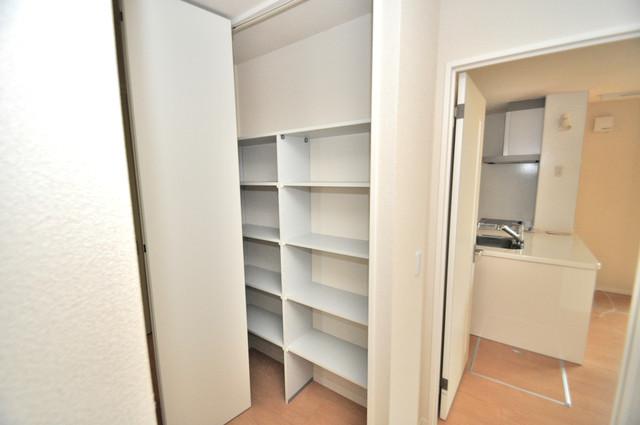 シャーメゾンアマヤハイツ もちろん収納スペースも確保。おかげでお部屋の中がスッキリ。