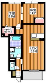 和光市駅 バス7分「南1丁目」徒歩2分1階Fの間取り画像