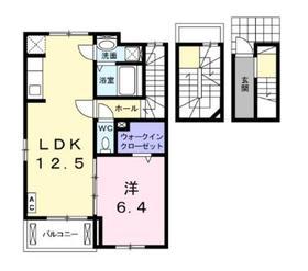 デスパシオ3階Fの間取り画像