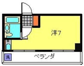 パインズコート弘明寺4階Fの間取り画像