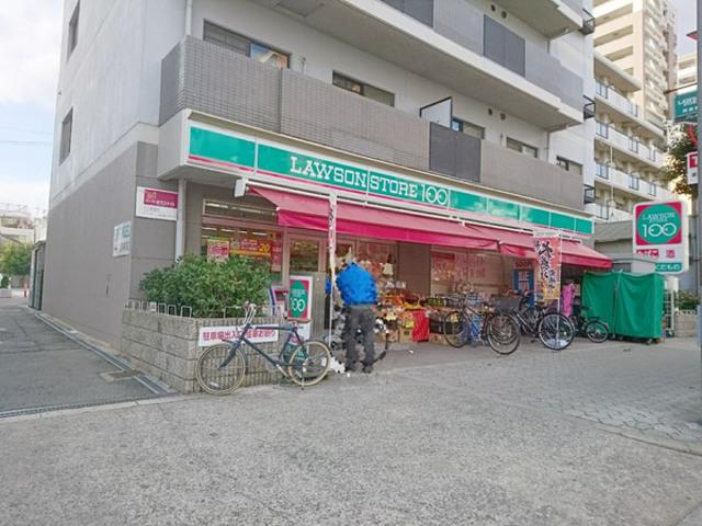 ローソンストア100阿倍野丸山通店
