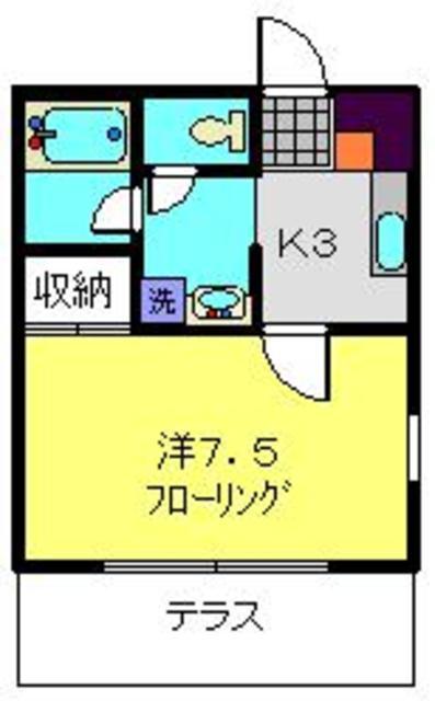 ディアコート横浜間取図