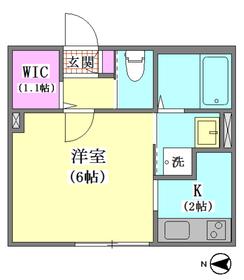 アプローズ 102号室