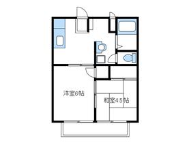 愛甲石田駅 車7分2.6キロ1階Fの間取り画像