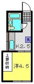 おれんじハウス壱番館2階Fの間取り画像